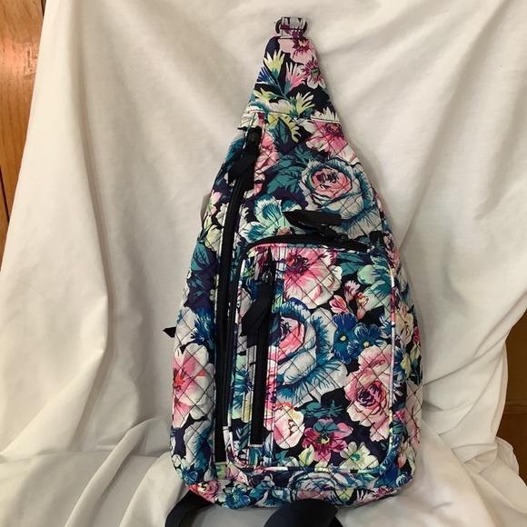 Vera Bradley Iconic Sling Backpack Garden Grove